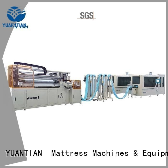 YUANTIAN Mattress Machines Brand speed pocket Automatic Pocket Spring Machine production machine