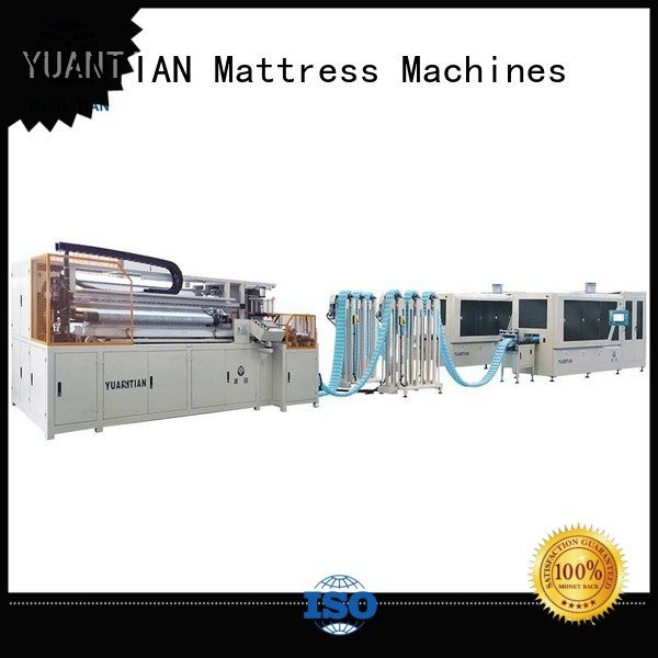 YUANTIAN Mattress Machines Brand spring dzg1b dt012 Automatic High Speed Pocket Spring Machine dtdx012