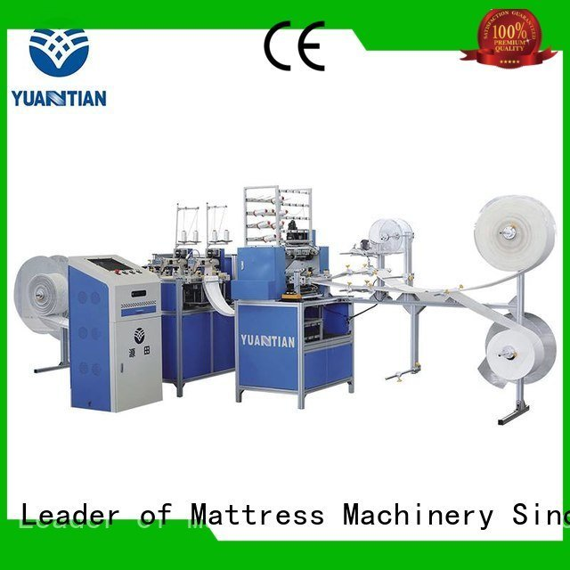 YUANTIAN Mattress Machines Brand machine stitching border quilting machine for mattress