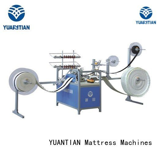 YUANTIAN Mattress Machines Brand arm decorative bhy1 singer  mattress  sewing machine price