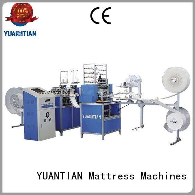 multineedle quilting single quilting machine for mattress YUANTIAN Mattress Machines quilting machine for mattress price mattr