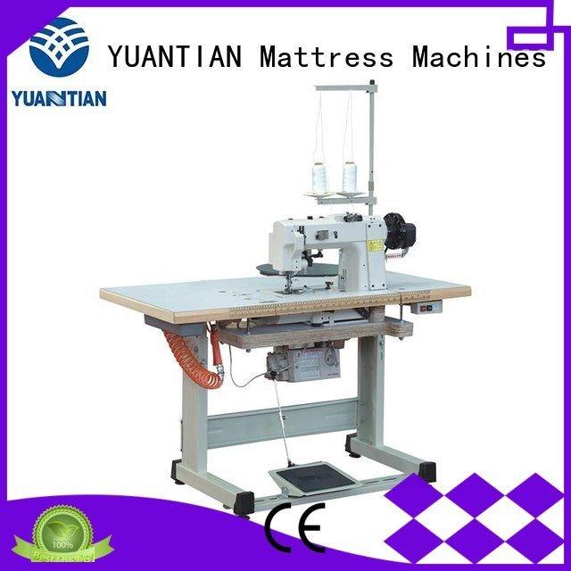 Custom mattress tape edge machine binding top mattress YUANTIAN Mattress Machines