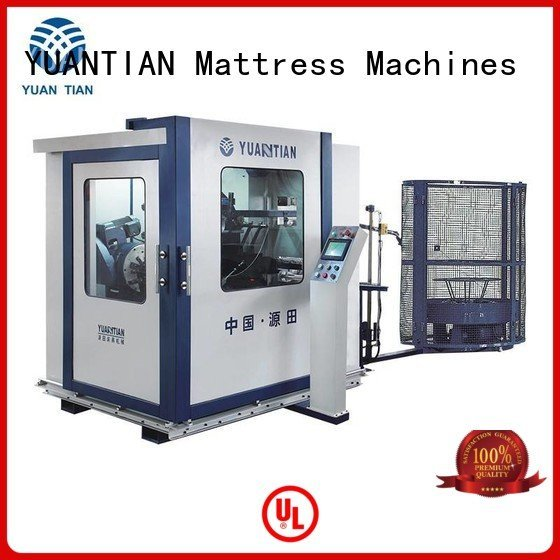 coiler machine YUANTIAN Mattress Machines bonnell spring machine