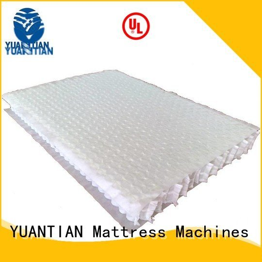 YUANTIAN Mattress Machines mattress spring unit nonwoven pocket covers spring