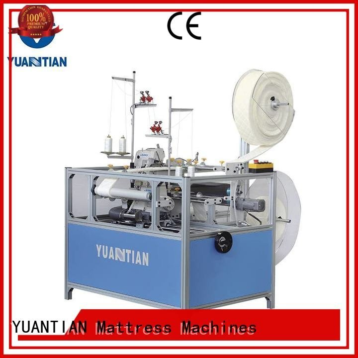 YUANTIAN Mattress Machines Double Sewing Heads Flanging Machine multifunction sewing heads