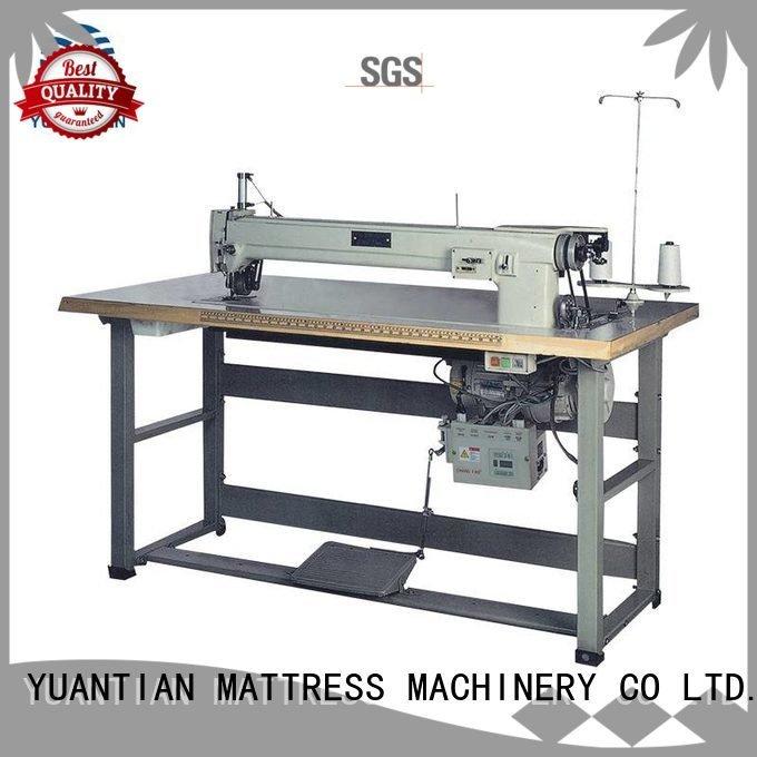 YUANTIAN Mattress Machines Brand decorative singer  mattress  sewing machine price mattress computerized