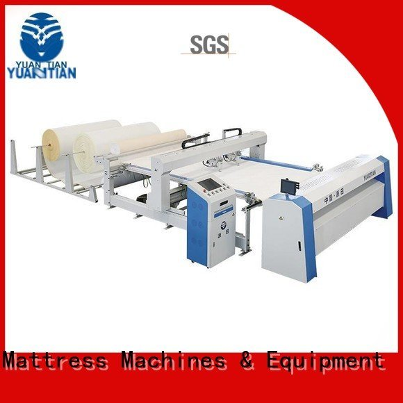 highspeed side YUANTIAN Mattress Machines quilting machine for mattress price