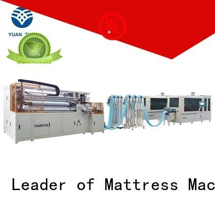 YUANTIAN Mattress Machines Brand coiler automatic Automatic High Speed Pocket Spring Machine high assembler