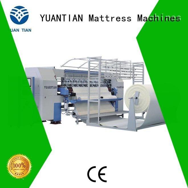 sa330 lockstitch YUANTIAN Mattress Machines quilting machine for mattress