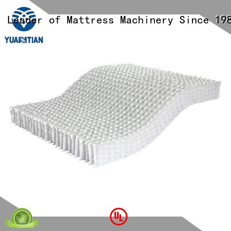 zoned top YUANTIAN Mattress Machines mattress spring unit