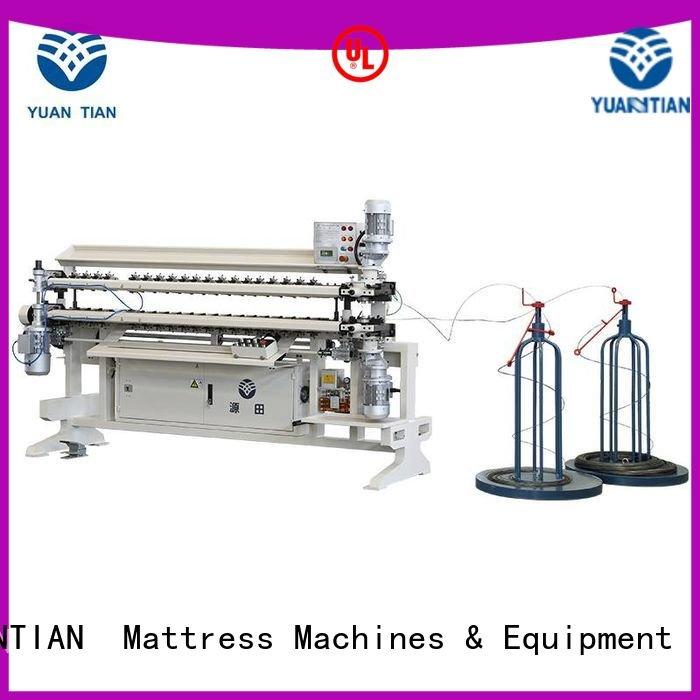cw2 machine YUANTIAN Mattress Machines Bonnell Spring Assembly  Machine