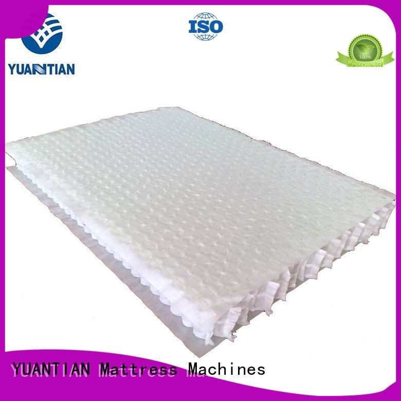 YUANTIAN Mattress Machines mattress spring unit unit with zoned top