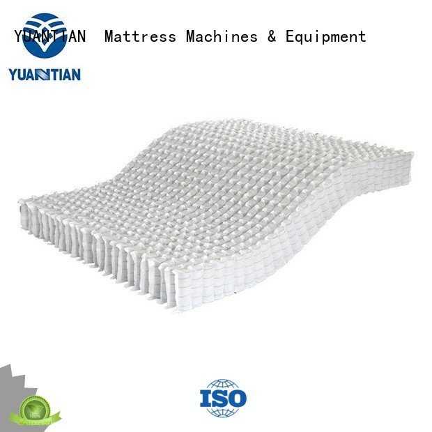 YUANTIAN Mattress Machines nonwoven nested mattress spring unit pocket unit