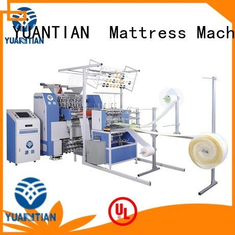 YUANTIAN Mattress Machines wbsh3 quilting machine for mattress multineedle singleneedle