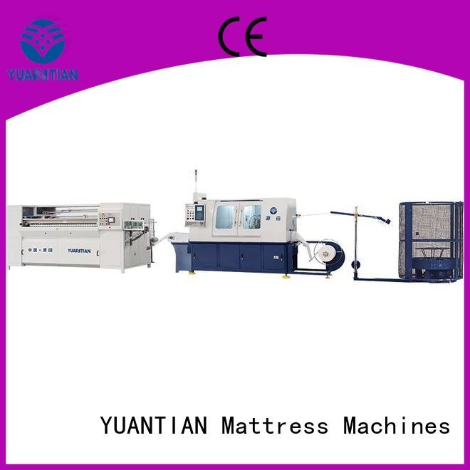 Automatic Pocket Spring Machine dzg1a Automatic High Speed Pocket Spring Machine YUANTIAN Mattress Machines