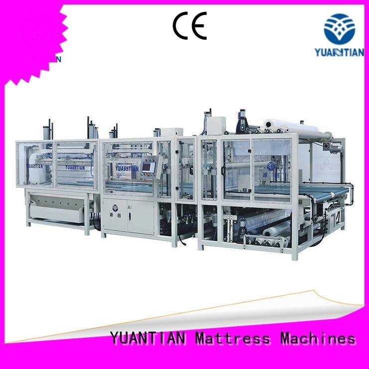 foam mattress making machine rollpack automatic machine pneumatic YUANTIAN Mattress Machines