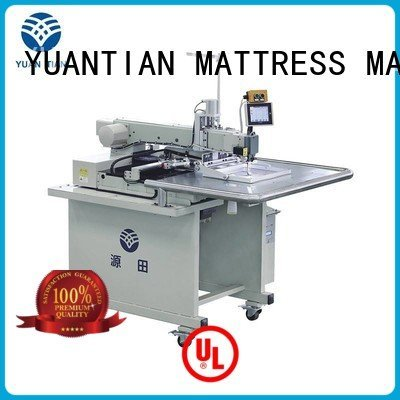YUANTIAN Mattress Machines computerized longarm arm singer  mattress  sewing machine price label