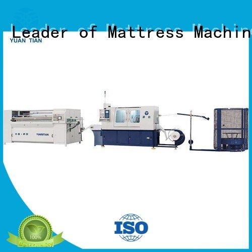 YUANTIAN Mattress Machines Brand line spring Automatic Pocket Spring Machine machine pocket