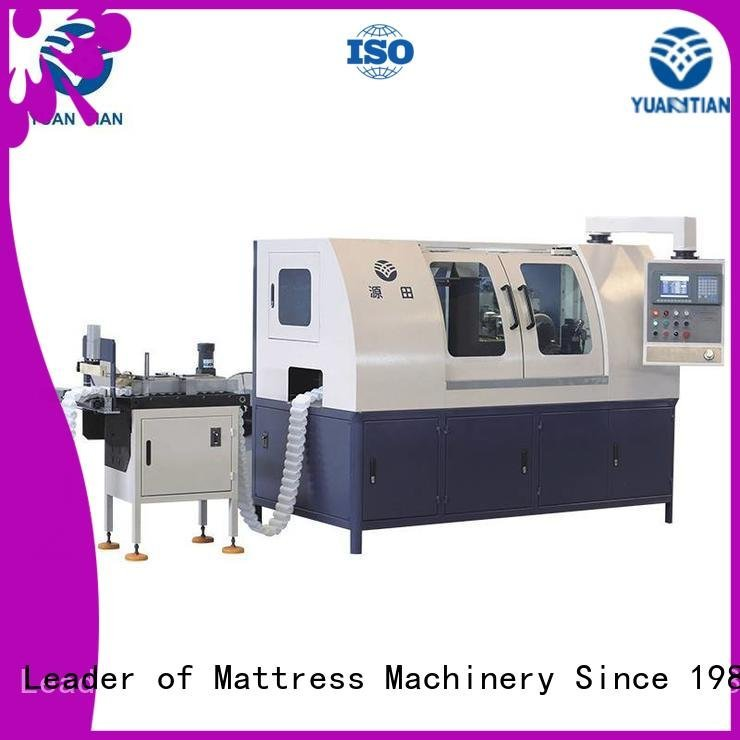 YUANTIAN Mattress Machines Brand pocket line Automatic Pocket Spring Machine assembling high