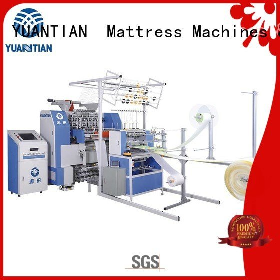YUANTIAN Mattress Machines Brand single quilting singleneedle quilting machine for mattress stitching