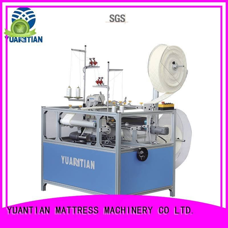 Double Sewing Heads Flanging Machine heads sewing YUANTIAN Mattress Machines Brand