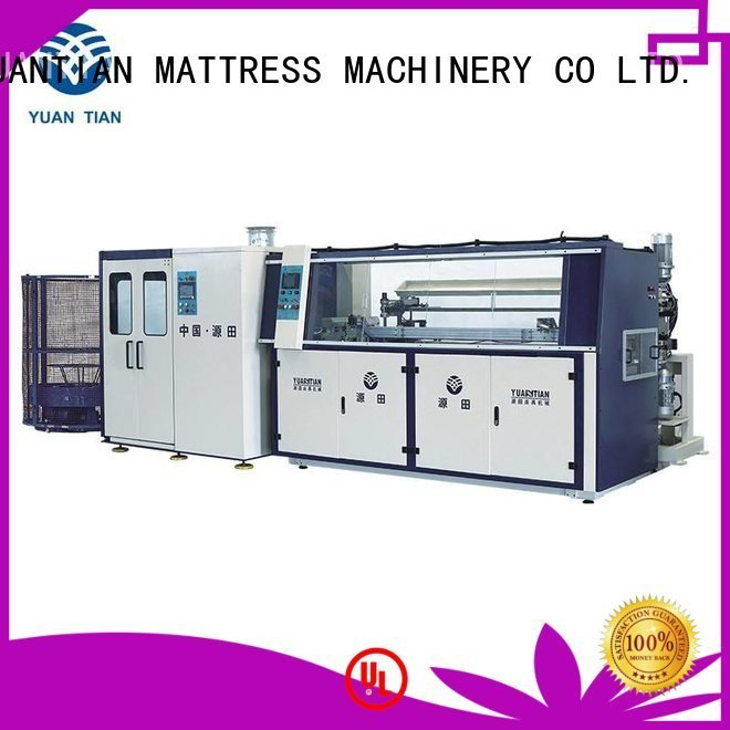 YUANTIAN Mattress Machines Brand coiler automatic machine Automatic Bonnell Spring Coiling Machine production