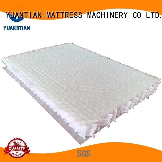 top mattress spring unit unit zoned YUANTIAN Mattress Machines