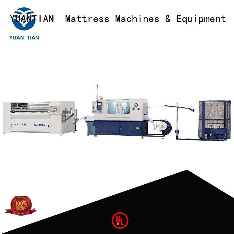 YUANTIAN Mattress Machines Brand pocket Automatic Pocket Spring Machine dn6 dzg1b
