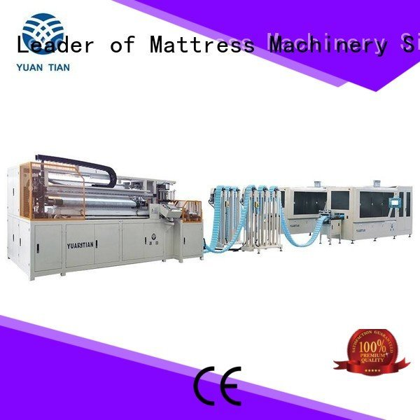 YUANTIAN Mattress Machines Brand assembler coiling Automatic High Speed Pocket Spring Machine pocket pocketspring