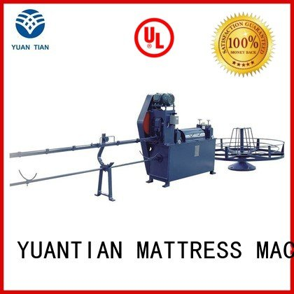 wire straightening YUANTIAN Mattress Machines foam mattress making machine
