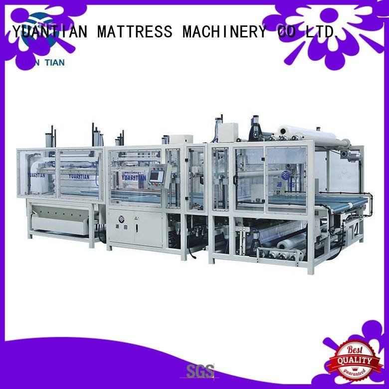YUANTIAN Mattress Machines Brand unit foam mattress making machine rollpack packing