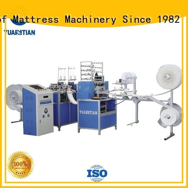 Hot quilting machine for mattress price bhf1 side single YUANTIAN Mattress Machines Brand