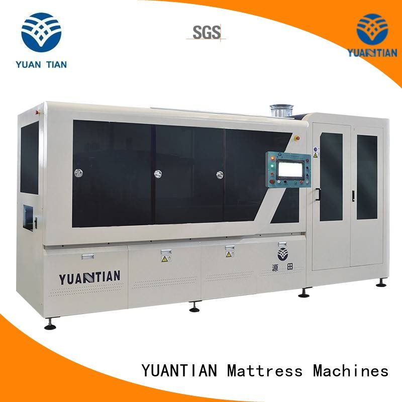 Automatic Pocket Spring Machine automatic coiling spring YUANTIAN Mattress Machines Brand Automatic High Speed Pocket Spring Machine