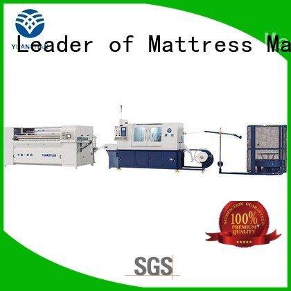 YUANTIAN Mattress Machines Brand assembling machine line Automatic High Speed Pocket Spring Machine production