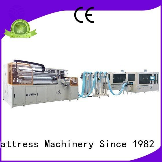 Automatic Pocket Spring Machine dzg1a pocketspring OEM Automatic High Speed Pocket Spring Machine YUANTIAN Mattress Machines