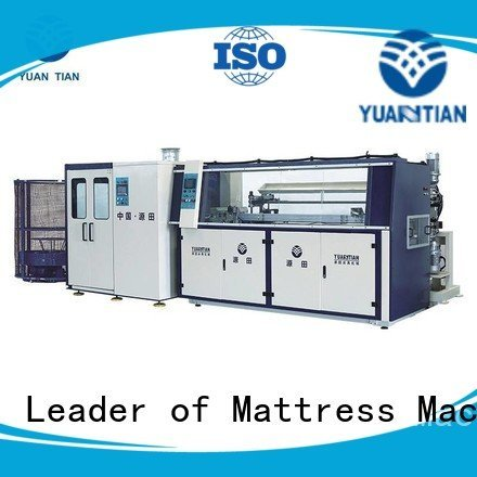 YUANTIAN Mattress Machines Brand production spring bonnell spring machine unit automatic