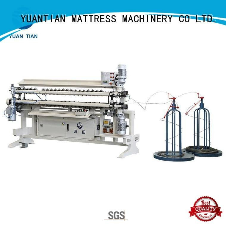 bonnell spring unit machine cw2 semiauto Bonnell Spring Assembly  Machine YUANTIAN Mattress Machines Warranty