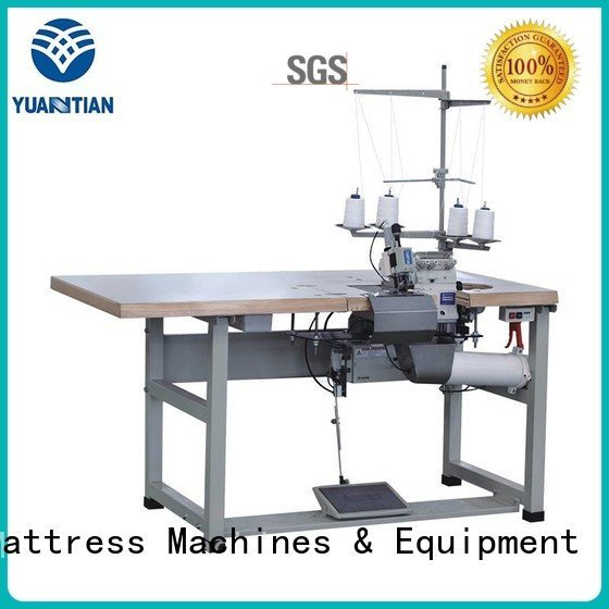 YUANTIAN Mattress Machines Brand double mattress Double Sewing Heads Flanging Machine sewing flanging