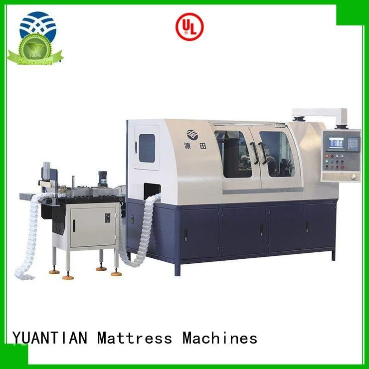YUANTIAN Mattress Machines Brand line assembling Automatic High Speed Pocket Spring Machine high production