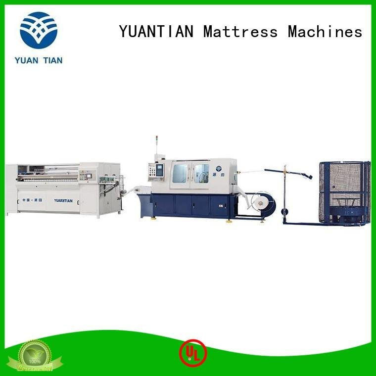 YUANTIAN Mattress Machines Automatic High Speed Pocket Spring Machine pocketspring high machine production
