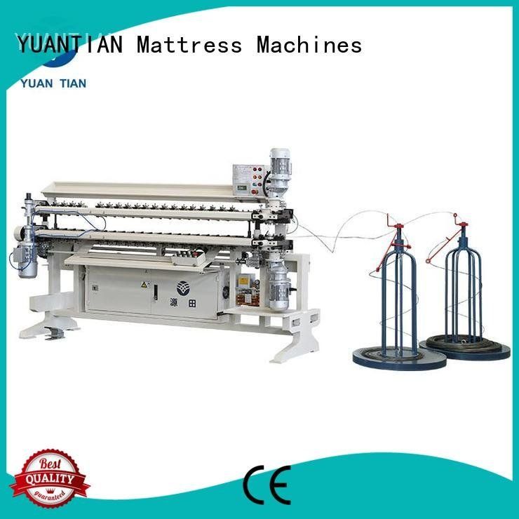 bonnell spring unit machine semiauto spring YUANTIAN Mattress Machines Brand