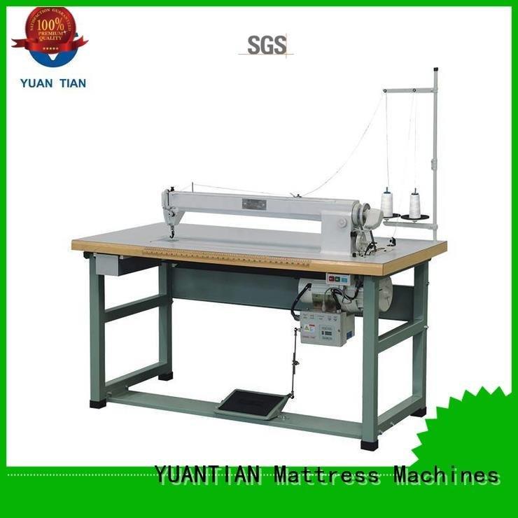 YUANTIAN Mattress Machines Brand decorative arm singer  mattress  sewing machine price border computerized