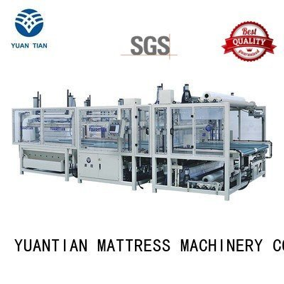 foam mattress making machine straightening YUANTIAN Mattress Machines Brand mattress packing machine