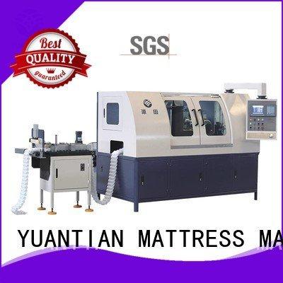 Automatic Pocket Spring Machine line high Automatic High Speed Pocket Spring Machine YUANTIAN Mattress Machines Warranty