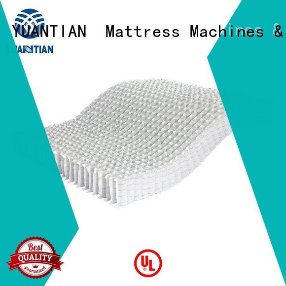Quality YUANTIAN Mattress Machines Brand mattress spring unit