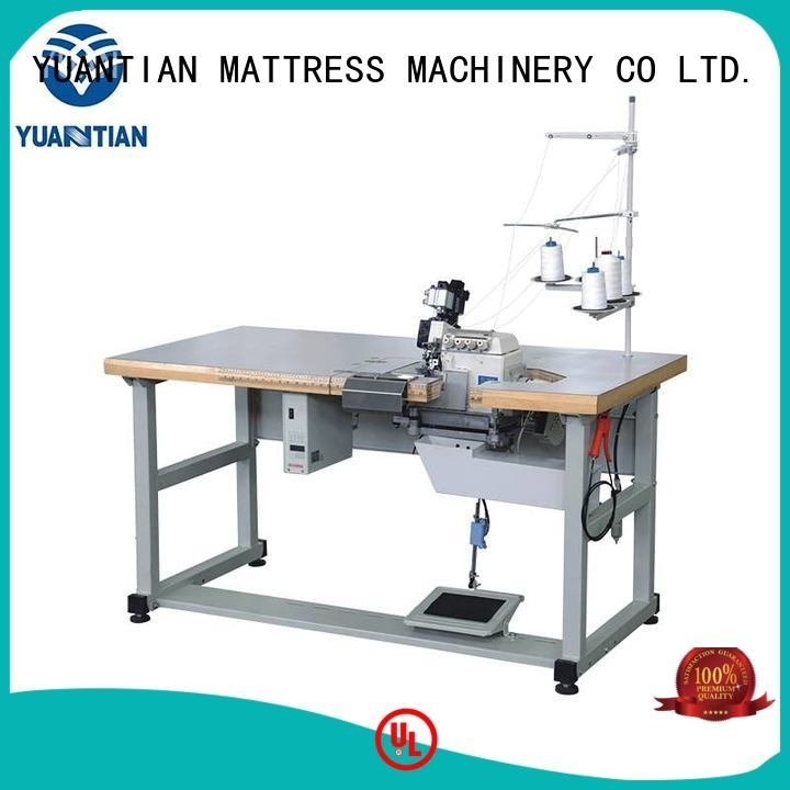 Double Sewing Heads Flanging Machine heads Mattress Flanging Machine YUANTIAN Mattress Machines