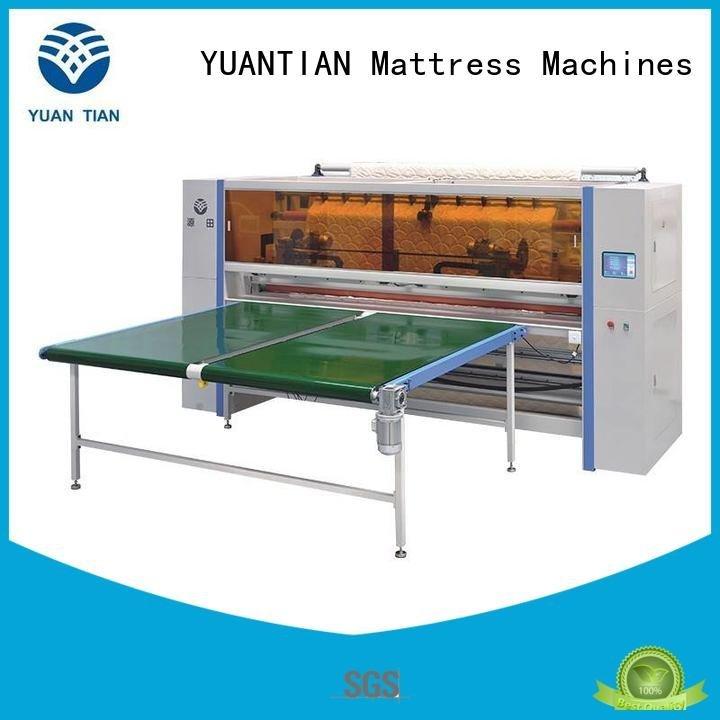 Hot Mattress Cutting Machine Supplier panel mattress machine YUANTIAN Mattress Machines Brand