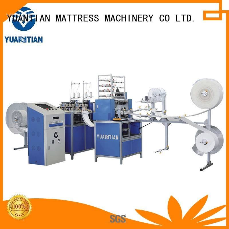 Quality quilting machine for mattress price YUANTIAN Mattress Machines Brand ls320 quilting machine for mattress