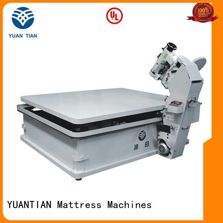 mattress tape edge machine wb4a mattress mattress tape edge machine YUANTIAN Mattress Machines Warranty