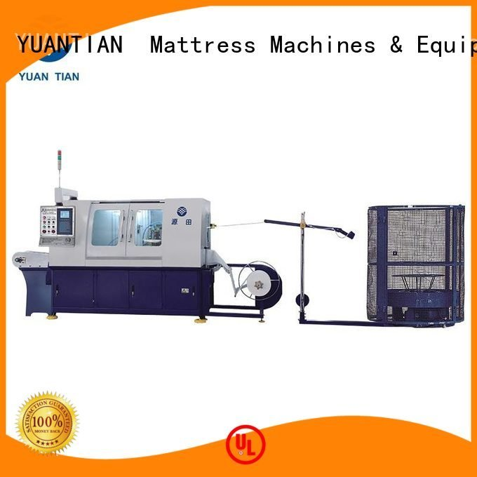 YUANTIAN Mattress Machines Automatic Pocket Spring Machine high speed dzg6 line